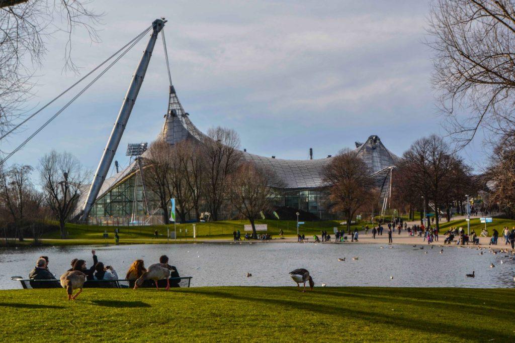 ミュンヘン_オリンピア公園_Munich_Olympiapark_撮影