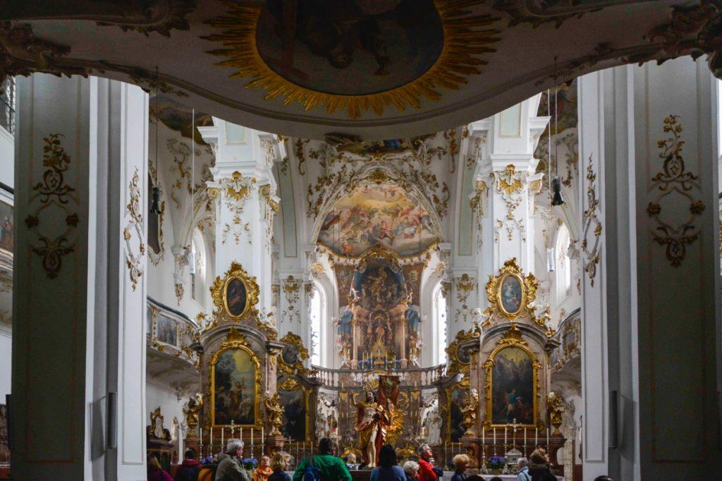 ミュンヘン郊外にある教会の建築