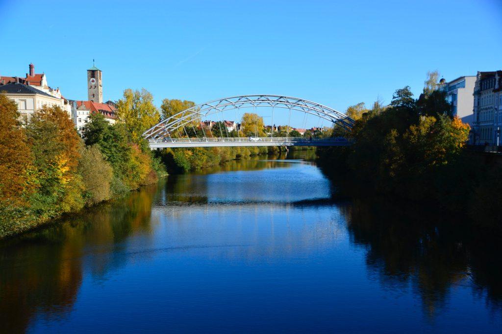 レグニッツ川の眺め