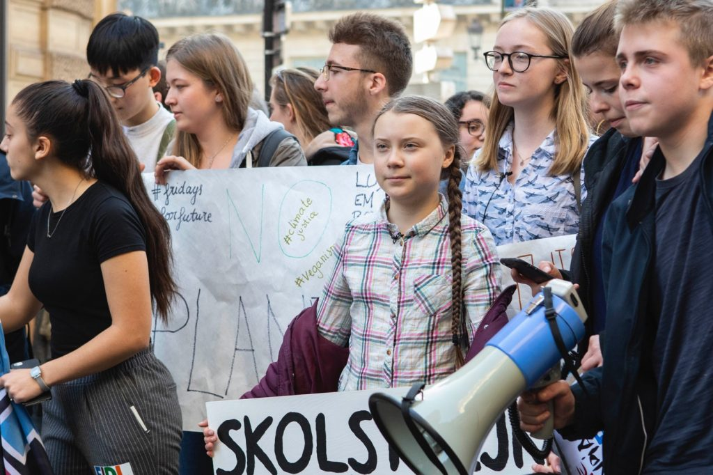 Greta Thunberg in Paris for climate demonstration