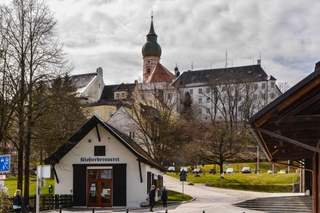 ミュンヘン郊外の教会