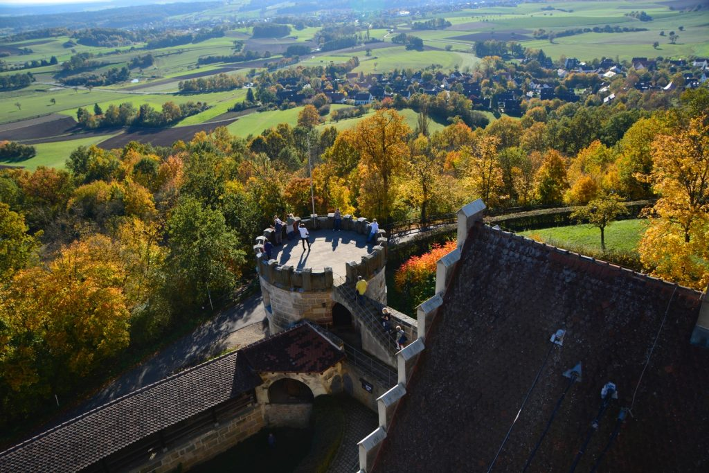 塔の見張り台からの眺め